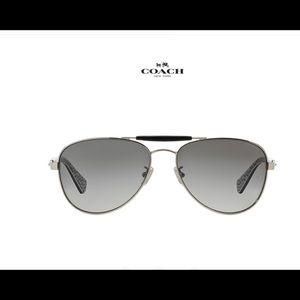Authentic Coach Metal Aviator Sunglasses *NEW